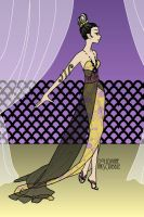 Human Panthy in a Sophisticated Ball by DreamsCanComeTrue67