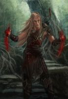 Zevran by Maguaii