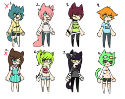 CHEAP RANDOM NEKO ADOPTS CLOSED by Kiwi-adopts