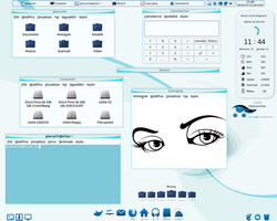 Blue_Eye Theme Full desk by giancarlo64