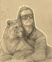 Bubbles and Steve French by MobsterQueenPin