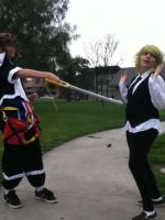 Sora:wait your not a heartless o.o what are you??? by SasuInsanity