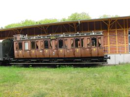 old train by AlenaKrause