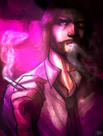 B is for Bigby Wolf by masayo11