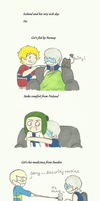 Iceland and his very sick day. by anorwegan