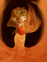 .Chibi Goddess by calendae