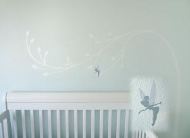 Nursery Wall - Tinkerbell Tree by BreakTheDay