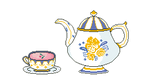 English Tea Set by HopperARTZ