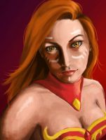 Lina, the Slayer by Hawoot