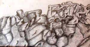 Rock Formation Study by Dreams-Of-Lightning