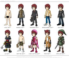 DN: Matt Wardrobe by SilentReaper