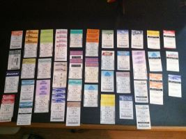 My Fastpass Collection (Thus Far) by cartoonation