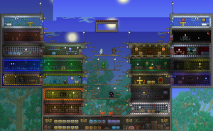 Terraria Multiplayer House! by Heartage