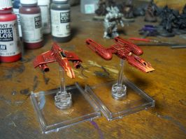 More X-wing repaints by SephKnight
