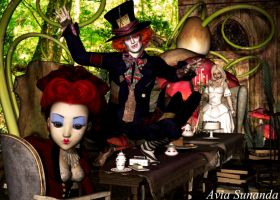 ALice in Wonderland Mad hatter by Avia-Sunanda