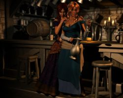 Wenches by twosheds1