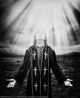 At The Left Hand of God by SorrowScavenger