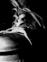Black and White Converse by PeppermintPictures