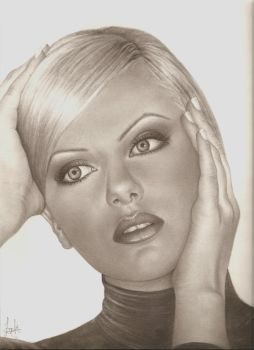 charlize theron by future-artist-9