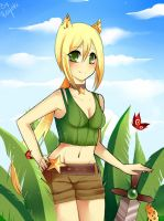 Safari girl by Rayuki