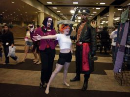 AFest '10: Faye, Ed and Jet by TEi-Has-Pants