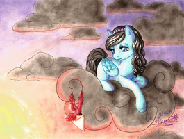 A letter for Silver Pluviae by Auriaslayer