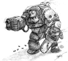 Ork Nob by Supremehydra