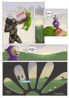 Predator vs teletubbies 6 by hqmarcos