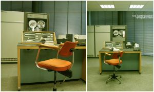 70's working station by serpha