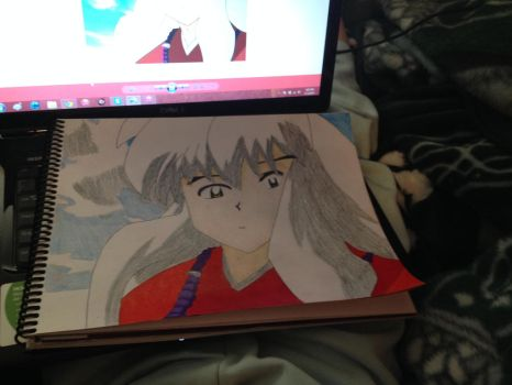inuyasha by flamescorch