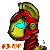 Iron Pony V.2 by Laffy372
