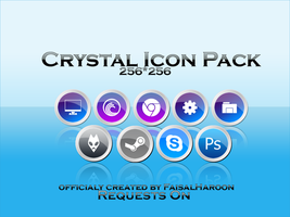 Crystal Icons by Faisalharoon