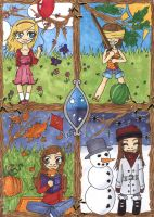 Chibi Seasons by Himmelsblau