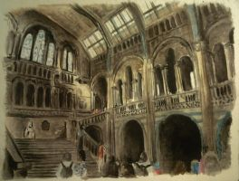 Natural History Museum London by Musmy94