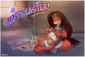 Happy Easter from Altermeta by Noben