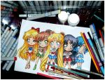 Sailor Moon Crystal : Back with a Vengeance by Lettelira