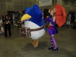 AX 09: OMG A PRINNY by Jei-Muffin