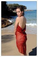 Jesi - Wattamolla red fabric 1 by wildplaces