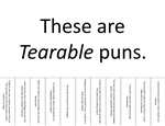 These Are Tearable Puns by Van-helsa124