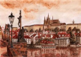 My Lovely Prague by Aelroun