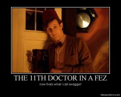 the 11th doctor in a fez by LoveEdElric