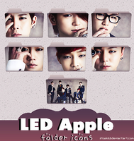 led apple folder icons {REQUEST} by stopidd