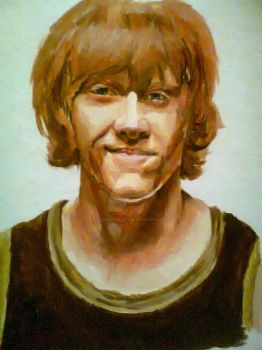Ron Weasley by adorkable215