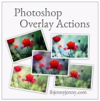 FREE Photoshop Overlay Actions by ibjennyjenny