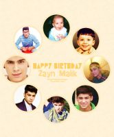Zayn Malik birthday by micamoneo
