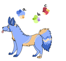 Doggy Adoptable by CatsInBlack