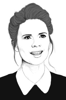 Hayley Atwell by Golden-Plated