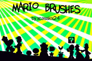 Mario Brushes by xCassiex24