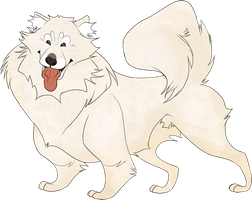 Samoyed by lylie-foak