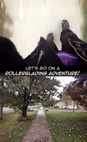 Rollerblading is Awesome by RedApropos